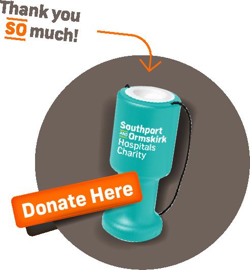 donate here donation graphic